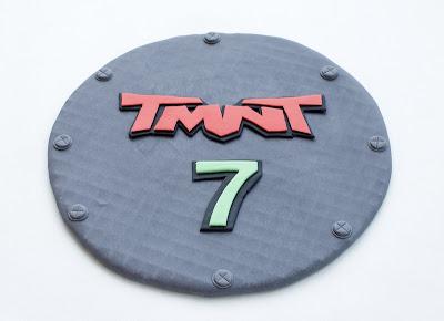 Ninja želve torta - Teenage mutant ninja turtles cake TMNT - pokrov jaška
