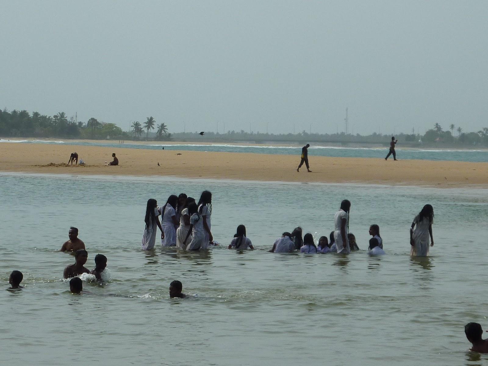 Maillot de bain au Sri Lanka