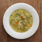 Vištienos sriuba su 'makaronais'