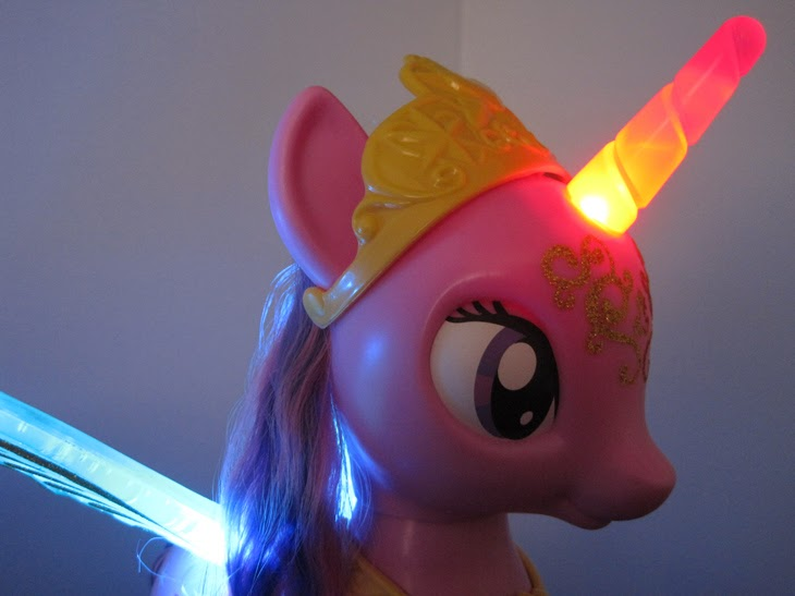 Close-up of My Little Pony Talking Princess Twilight Sparkle.