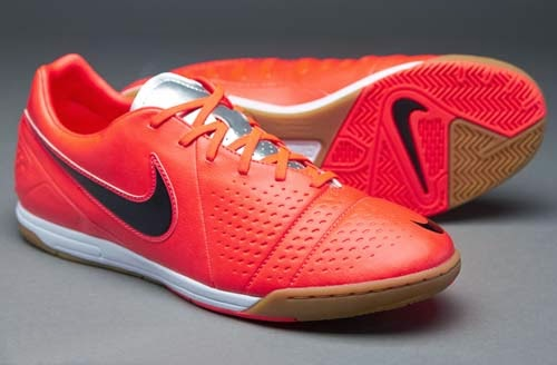 Nike CTR360 Libretto III futsal shoes with orange color