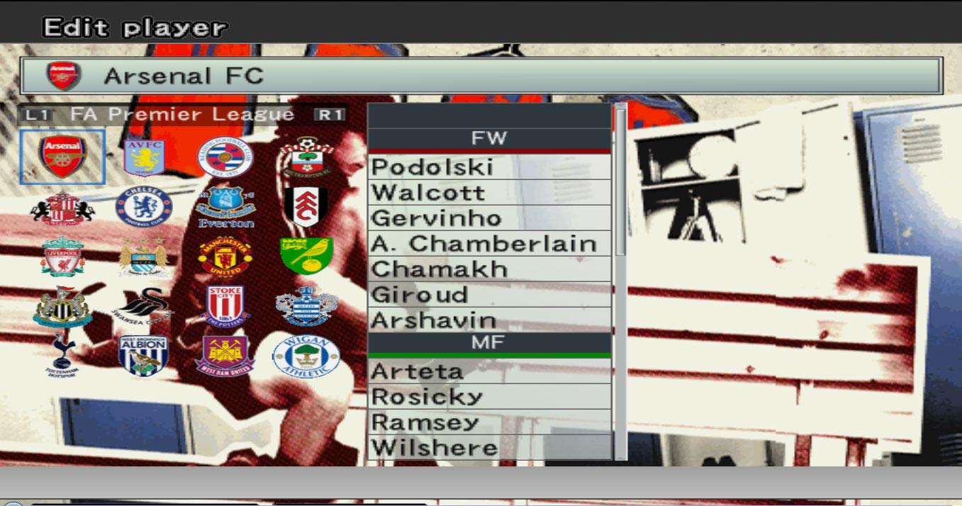 PES 6: Option File du saison 2012/2013 VERSION