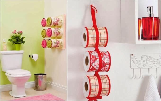 Mille idee casa idee pratiche per abbellire la stanza da bagno - Idee per abbellire casa ...