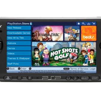 Sony cerrará la PlayStation Store de PSP el próximo 31 de marzo en Japón