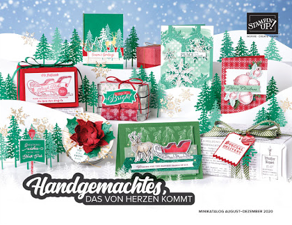 Stampin´ Up! Minikatalog August - Dezember 2020