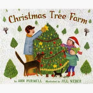 it does an engaging job of describing how a christmas tree becomes a christmas tree the book offered the opportunity for me to talk about vocabulary