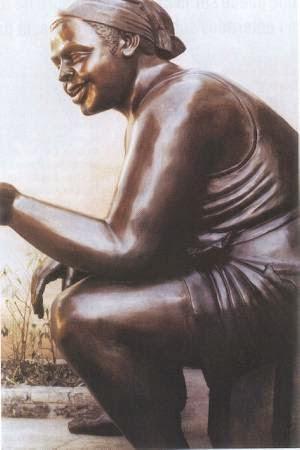 Escultura-bronce-patinado-arte-colombiano