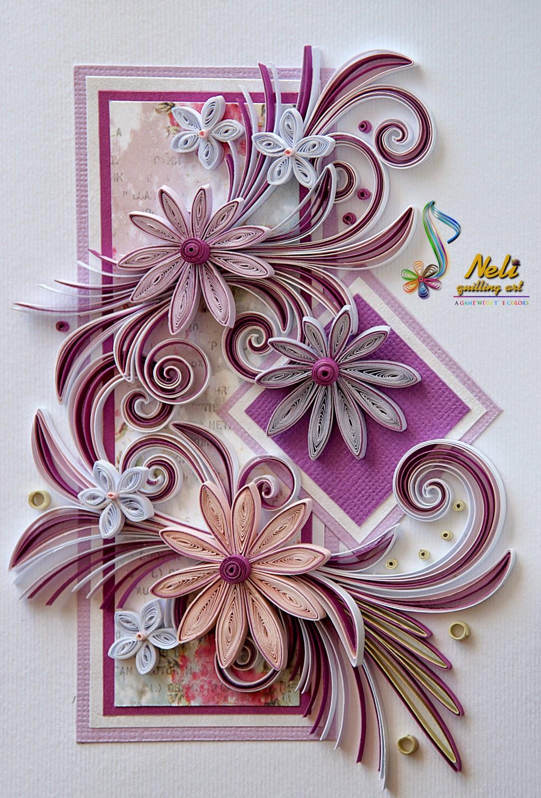 Neli Quilling Art Quilling Cards