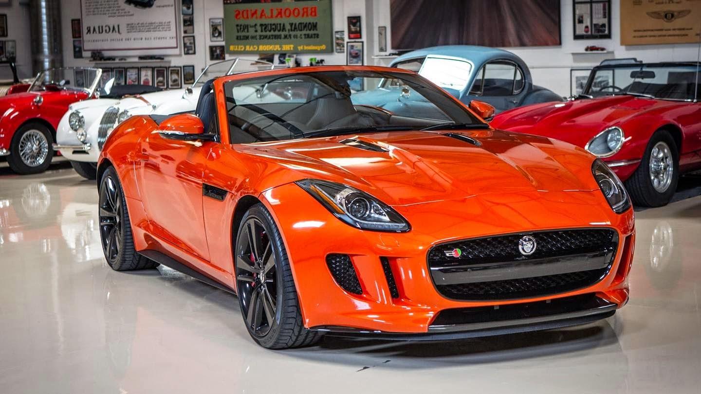 Jaguar F Type Orange wallpapers