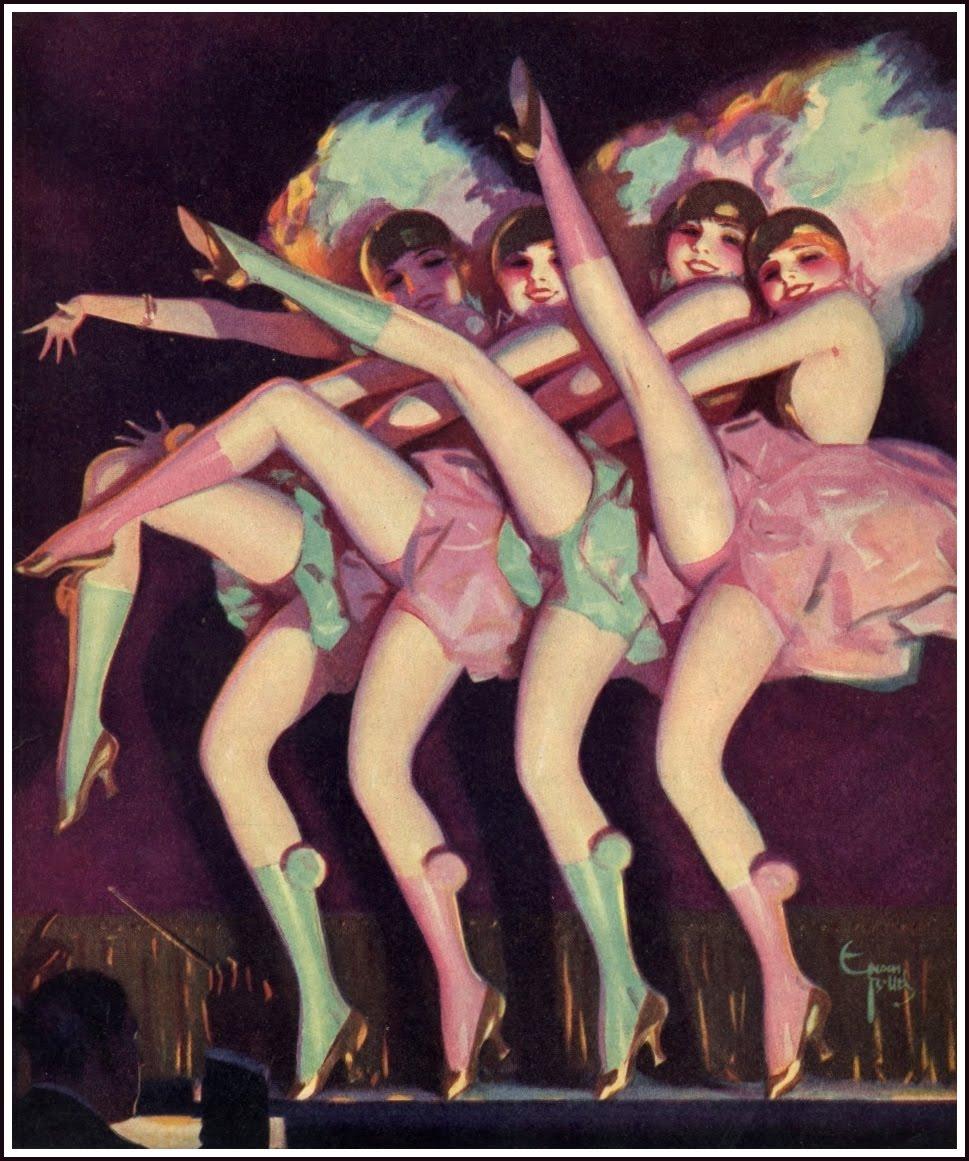 Танцы с задиранием ног 2 фотография