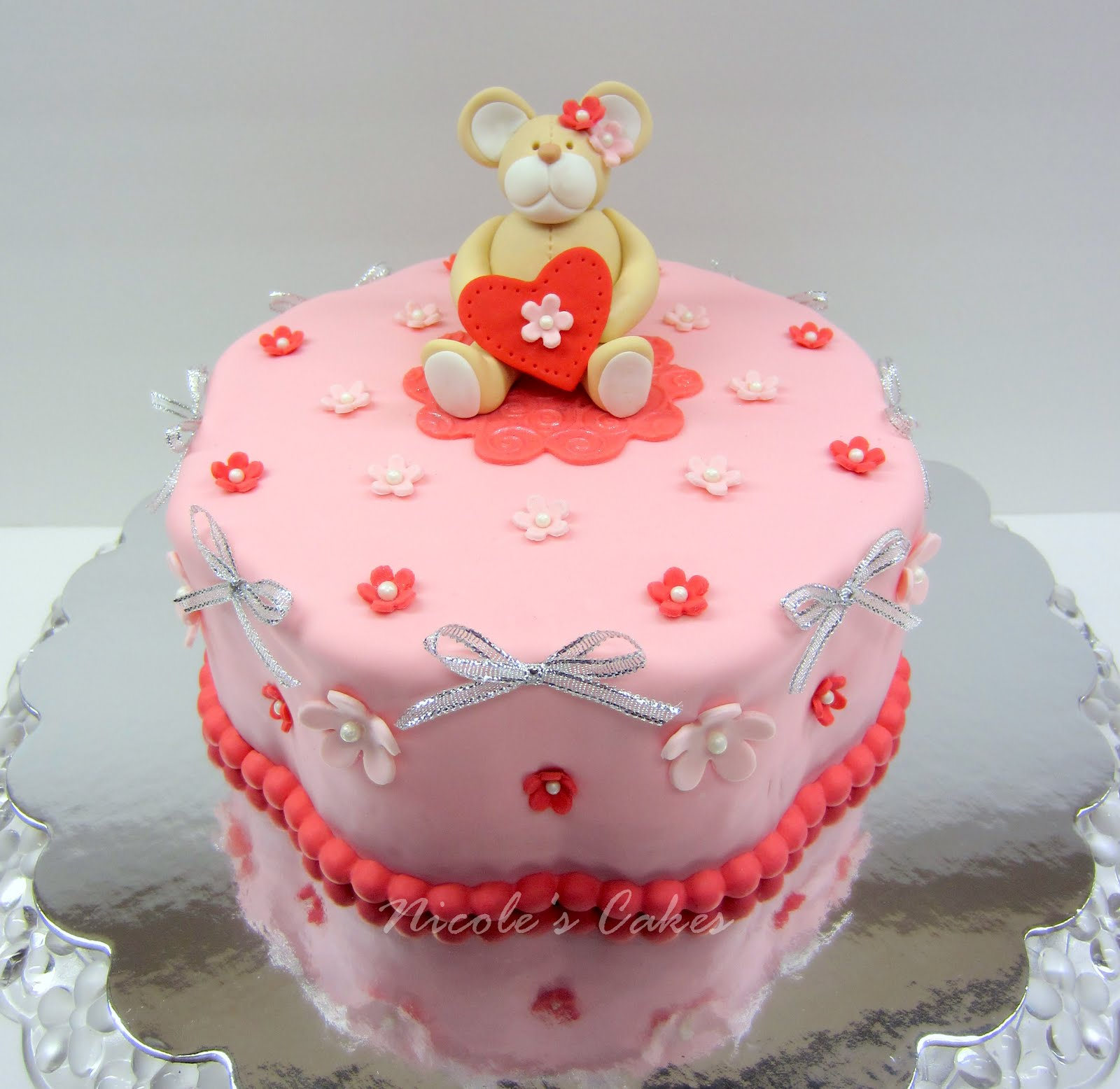 Confections, Cakes & Creations!: A Valentine s Birthday Cake