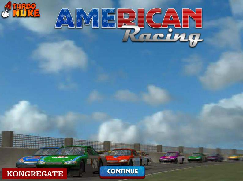 American racing game play now and wait few seconds just for game loads