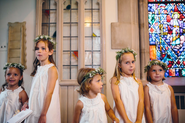 Floral Crown Flower Girls