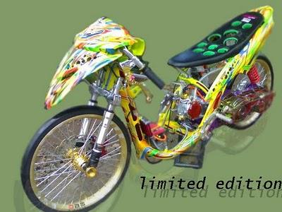 Gambar Modifikasi Motor Yamaha Mio Soul