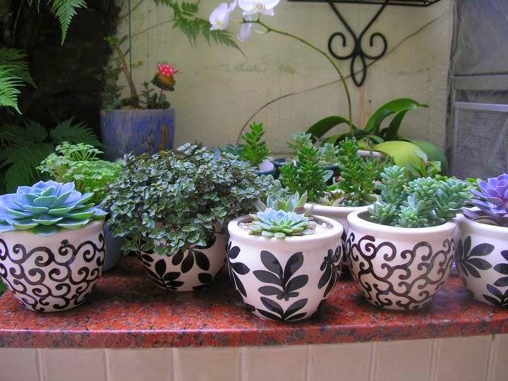 Resultado de imagem para Como Pintar Vasos de Cerâmica