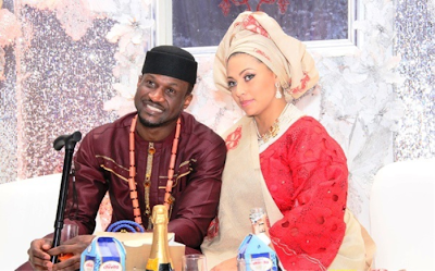 Peter Okoye sends his wife Lola affectionate message on her birthday