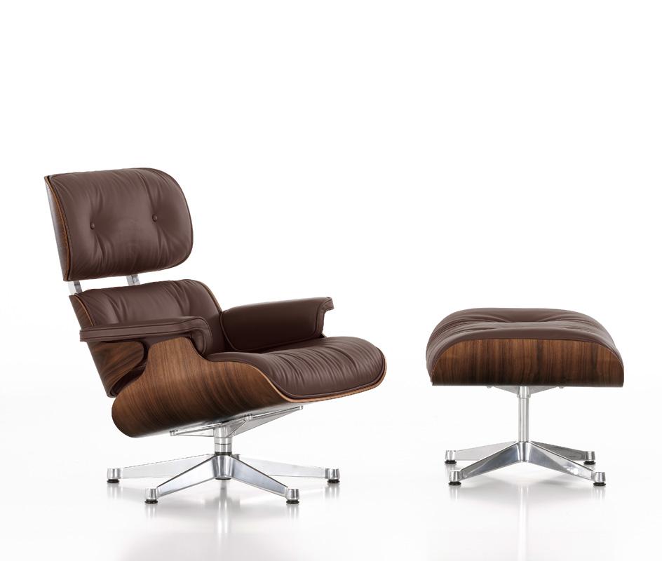 retiro mobiliario oferta del lounge chair de vitra ottoman de regalo. Black Bedroom Furniture Sets. Home Design Ideas