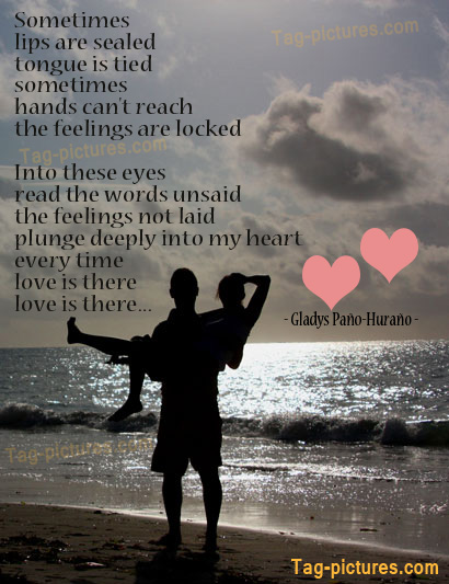 Couple Love Quotes | Amazing Pictures Love Couple Kiss With Quotes