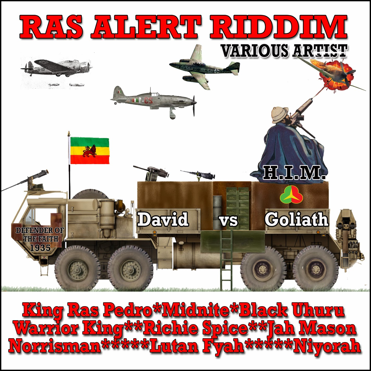RAS ALERT RIDDIM MIX 2013 BY @FYAHMUSIC @SELECTARICKY.mp3 #RASALERTRIDDIM