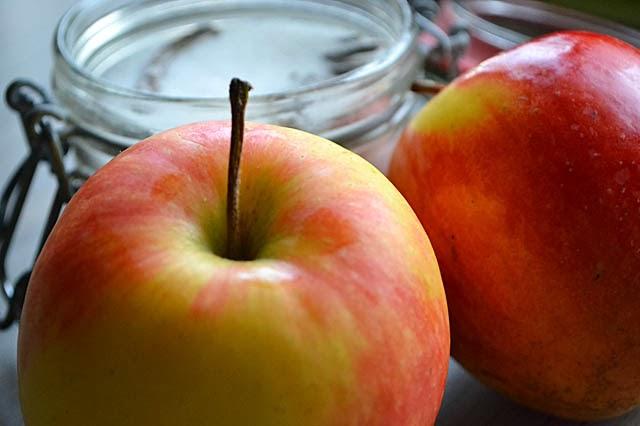 Äpfel Zucker