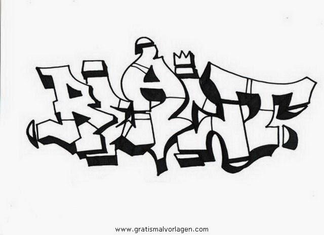 graffiti malvorlagen
