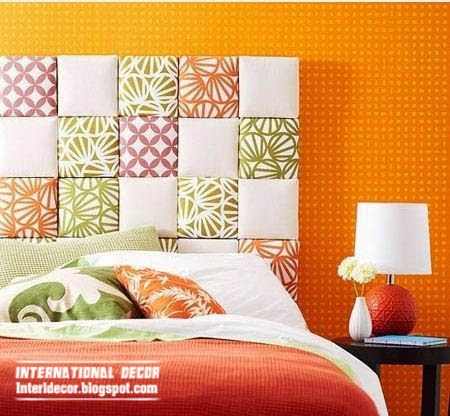 Creative headboard designs for romantic bedroom