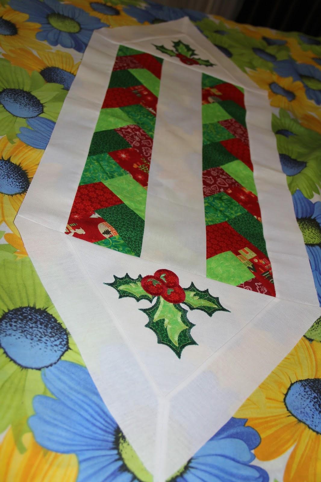 рождественская дорожка, скатерть праздничная, новый год, рождество