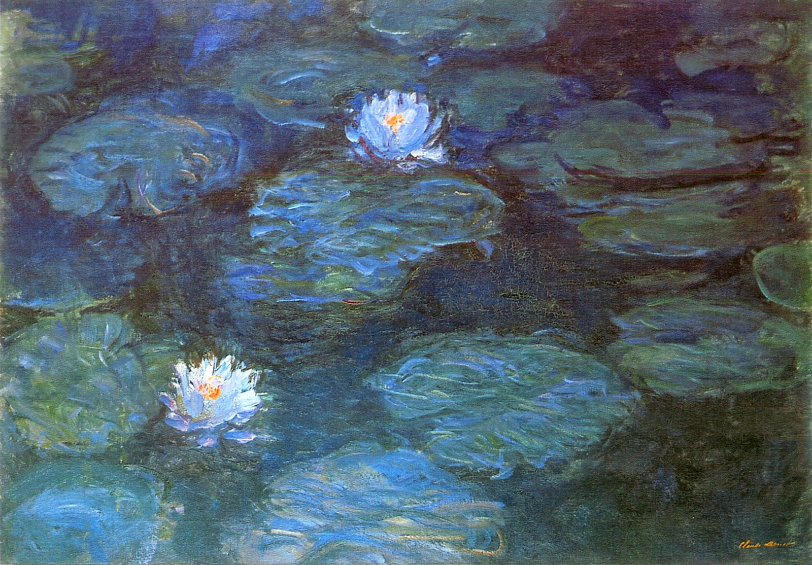 ART & ARTISTS: Claude Monet - part 23 1897 - 1922 Water Lilies