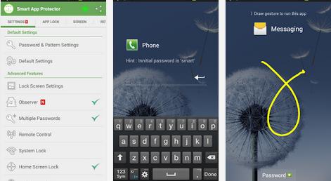 cara mengunci aplikasi di android