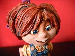 Ellie up orme magiche i statuette sculture action figure personalizzate fatta a mano da colorare
