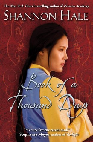 Book of a Thousand Days book cover