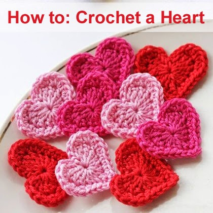Crochet A Heart : How to Crochet a Heart