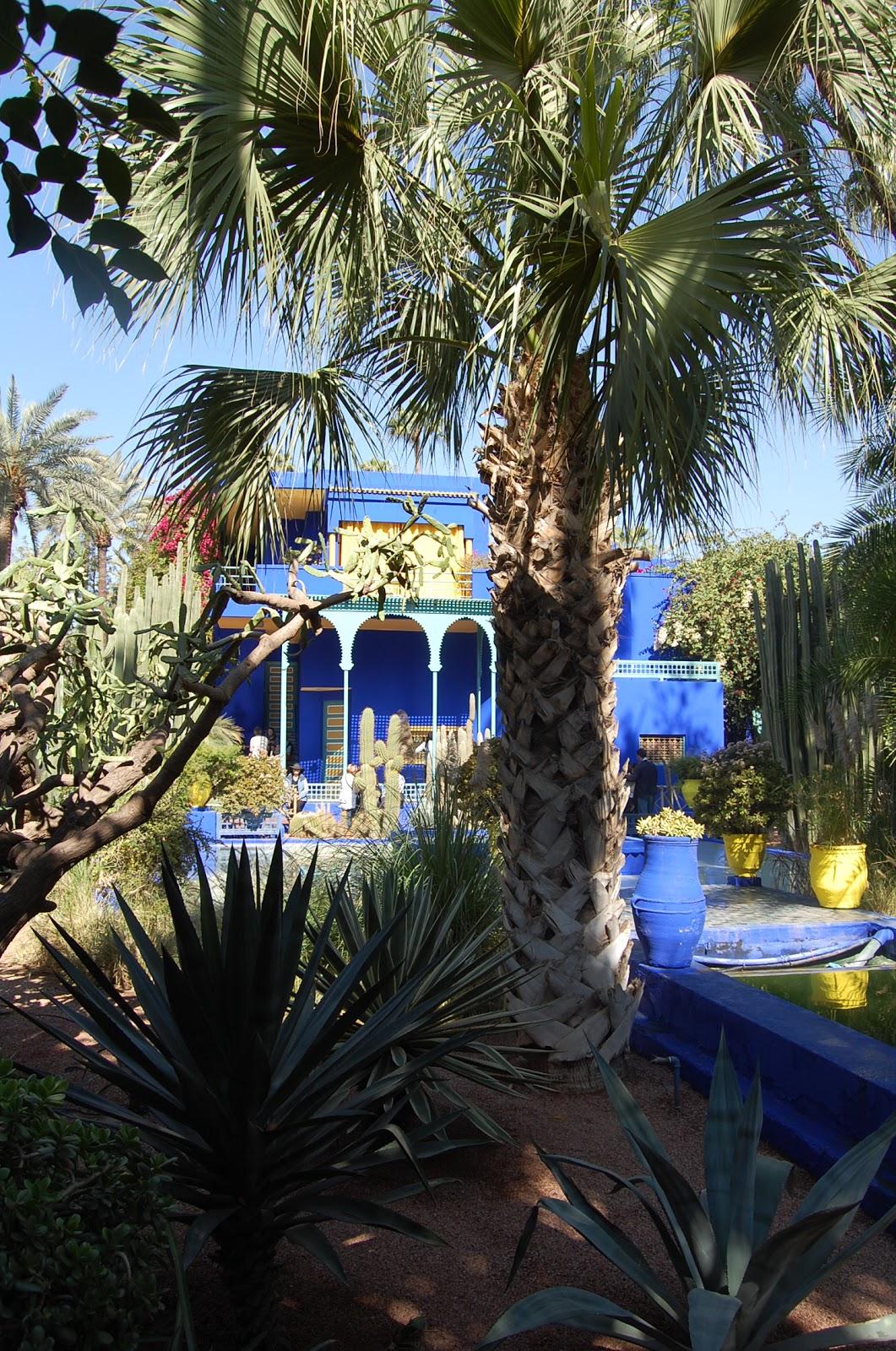 Le jardin de majorelle marrakech le maroc - Peintre majorelle oeuvres ...