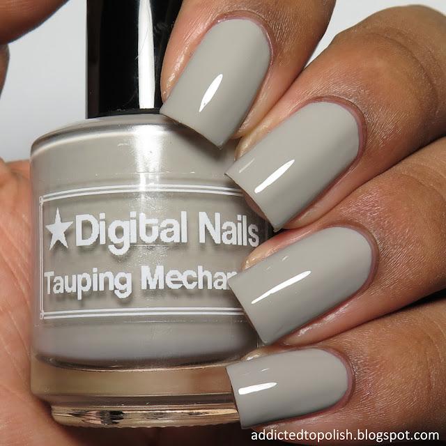 digital nails tauping mechanism creme a la mode box