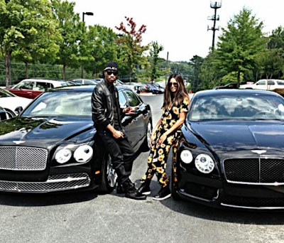 Love- Ciara & Future buy matching 2014 Bentleys(Photo)