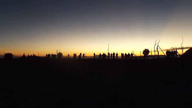 Sunrise Hutan Mati Gunung Papandayan