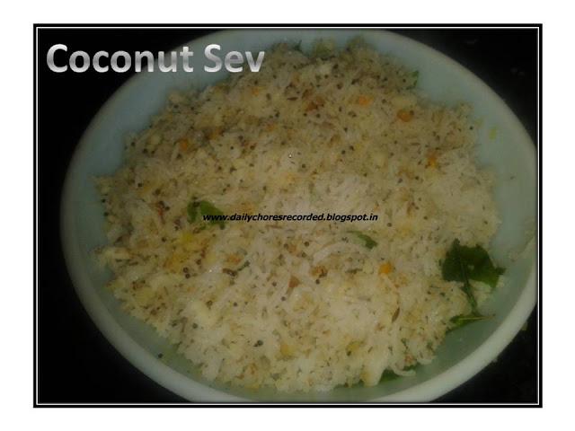 Coconut Sev
