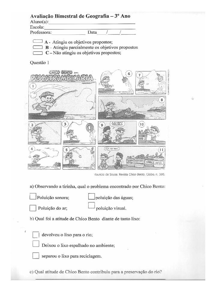 Provas Para O 3   Bimestre   3   Ano  Hist  Ria E Geografia