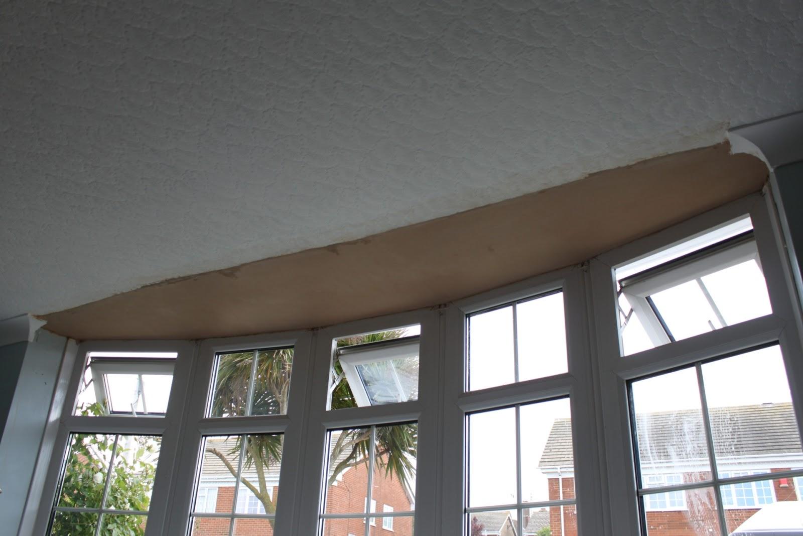 Plastering 4u Bay Window Ceiling Repair