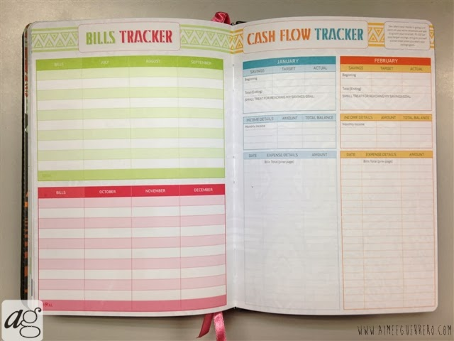 Belle De Jour Power Planner 2014 Bills and Cash Flow Tracker