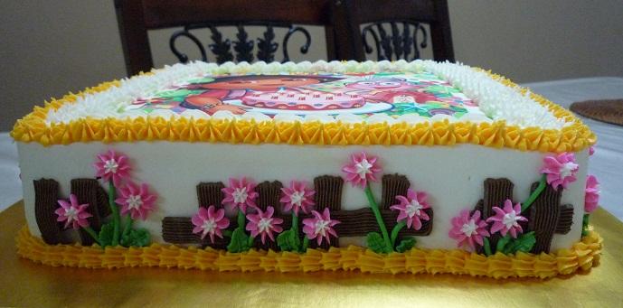 GG Home Biz Cakes Wedding Cakes Dora Custom Edible Image Cake for
