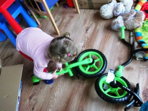 składanie rowerka biegowego milly mally