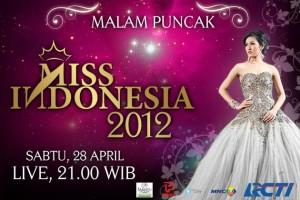 daftar nama finalis miss indonesia 2012