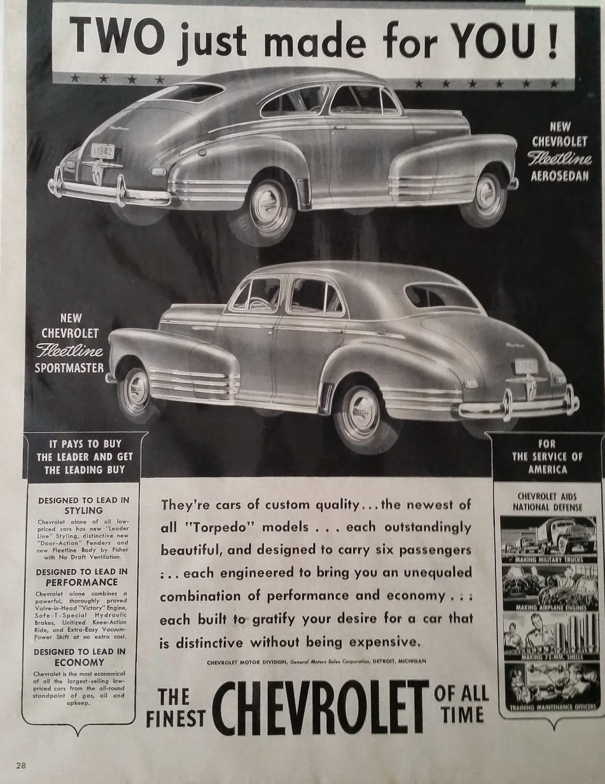 Apple Pie And Chevrolet 1942 Chevy Truck Patina As Many Of You Know Auto Production Stopped In February That Year Didnt Resume Until October 1945 The 42 Ads Are Also Plain Mostly Text