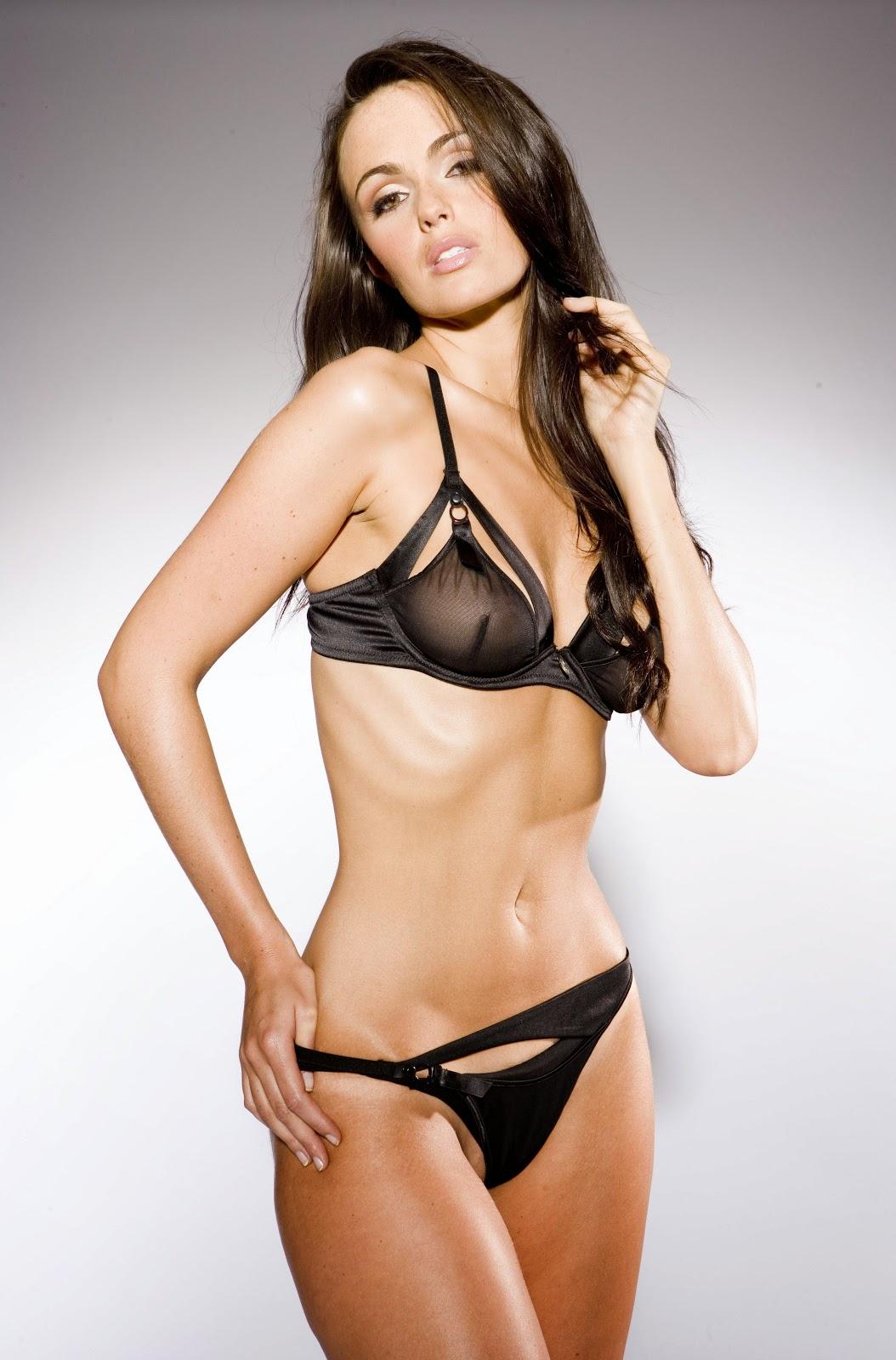 Jennifer Metcalfe sexy lingerie photos