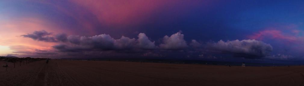 Tempesta. Platja de l'Auir