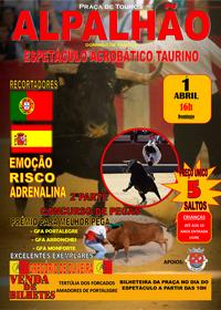 Alpalhão- Espectáculo Acrobático Taurino