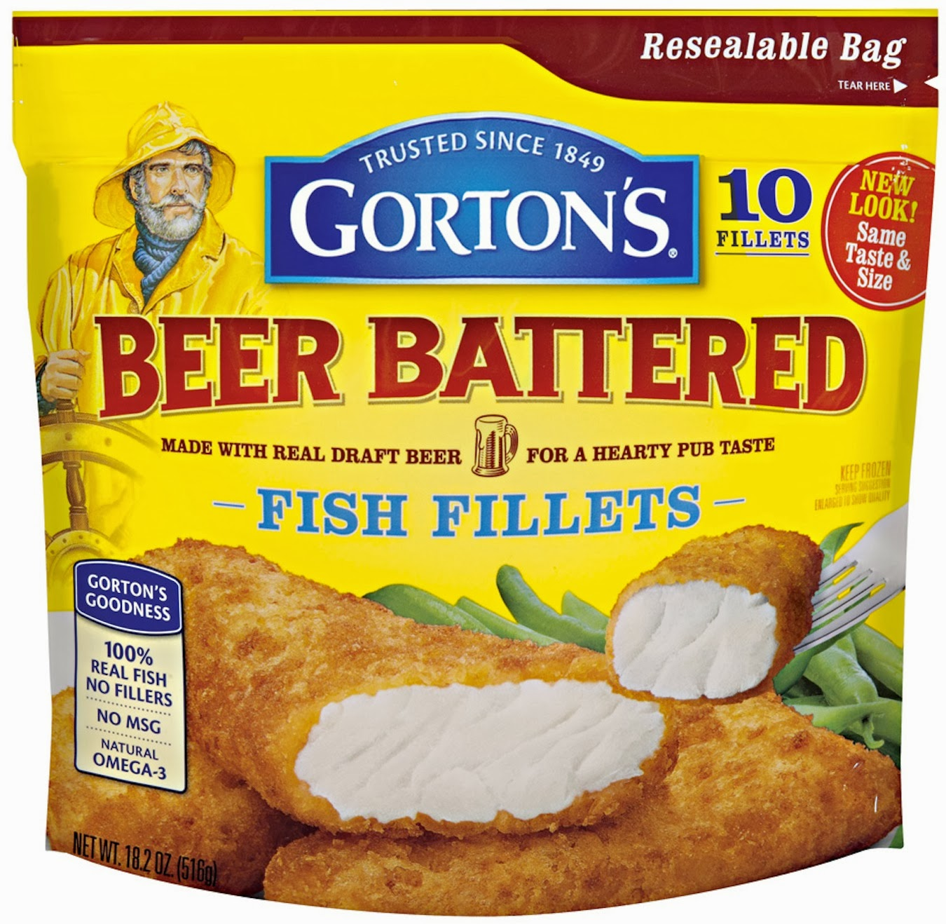 Sophie and momma gorton s wicked good seafood review and for Gortons fish sticks