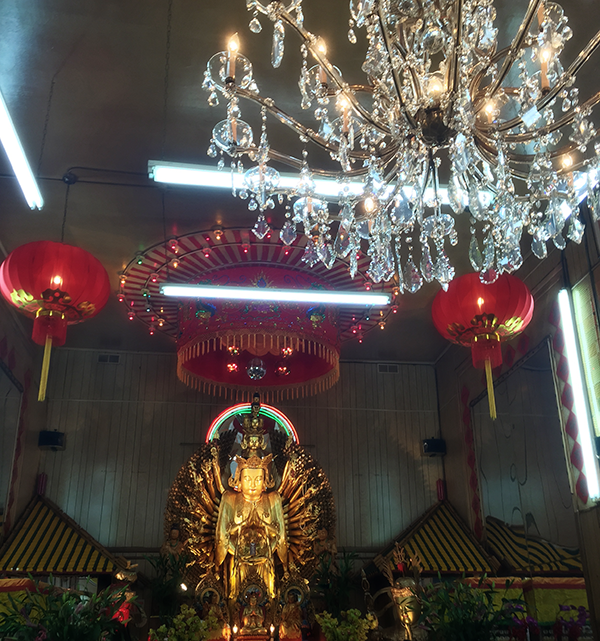 Chinese New Year at the Buddhist Temple