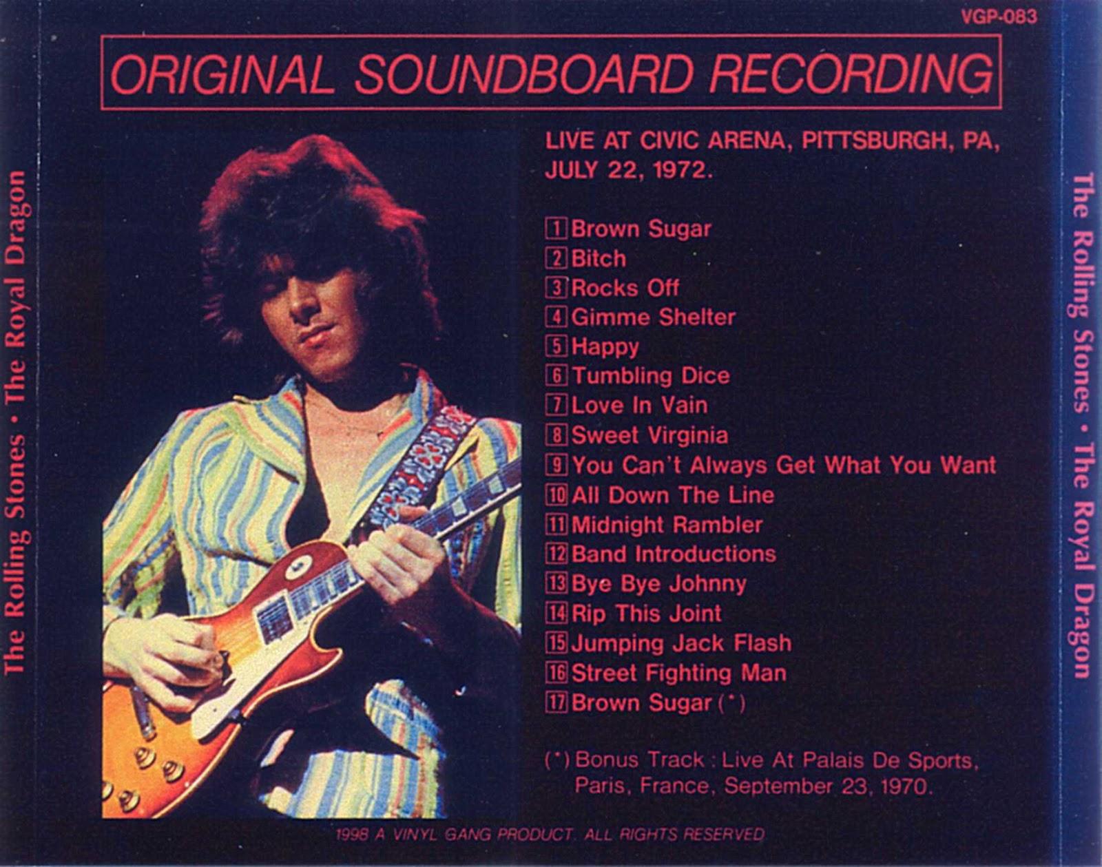 Plumdusty s page pink floyd 1975 06 12 spectrum theater philadelphia -  Soundboard Flac